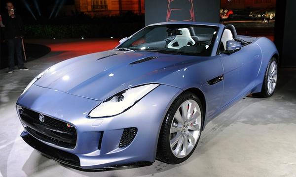 Jaguar F-Type начнут выпускать в следующем году